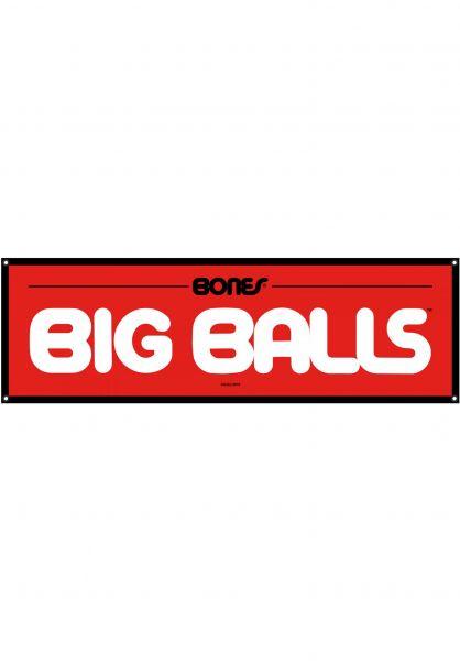 """Bones Bearings Verschiedenes Big Balls Banner 47"""" x 15"""" multicolored vorderansicht 0972363"""