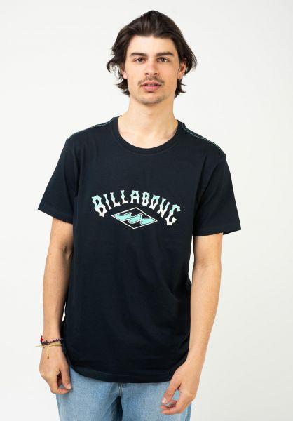 Billabong T-Shirts Arch navy vorderansicht 0323779