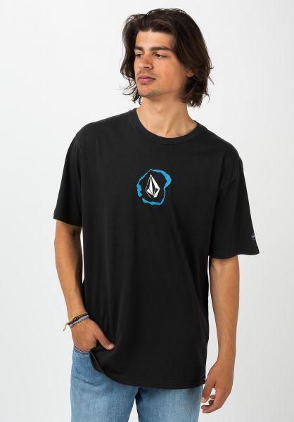 Volcom T-Shirts Posted black vorderansicht 0321779