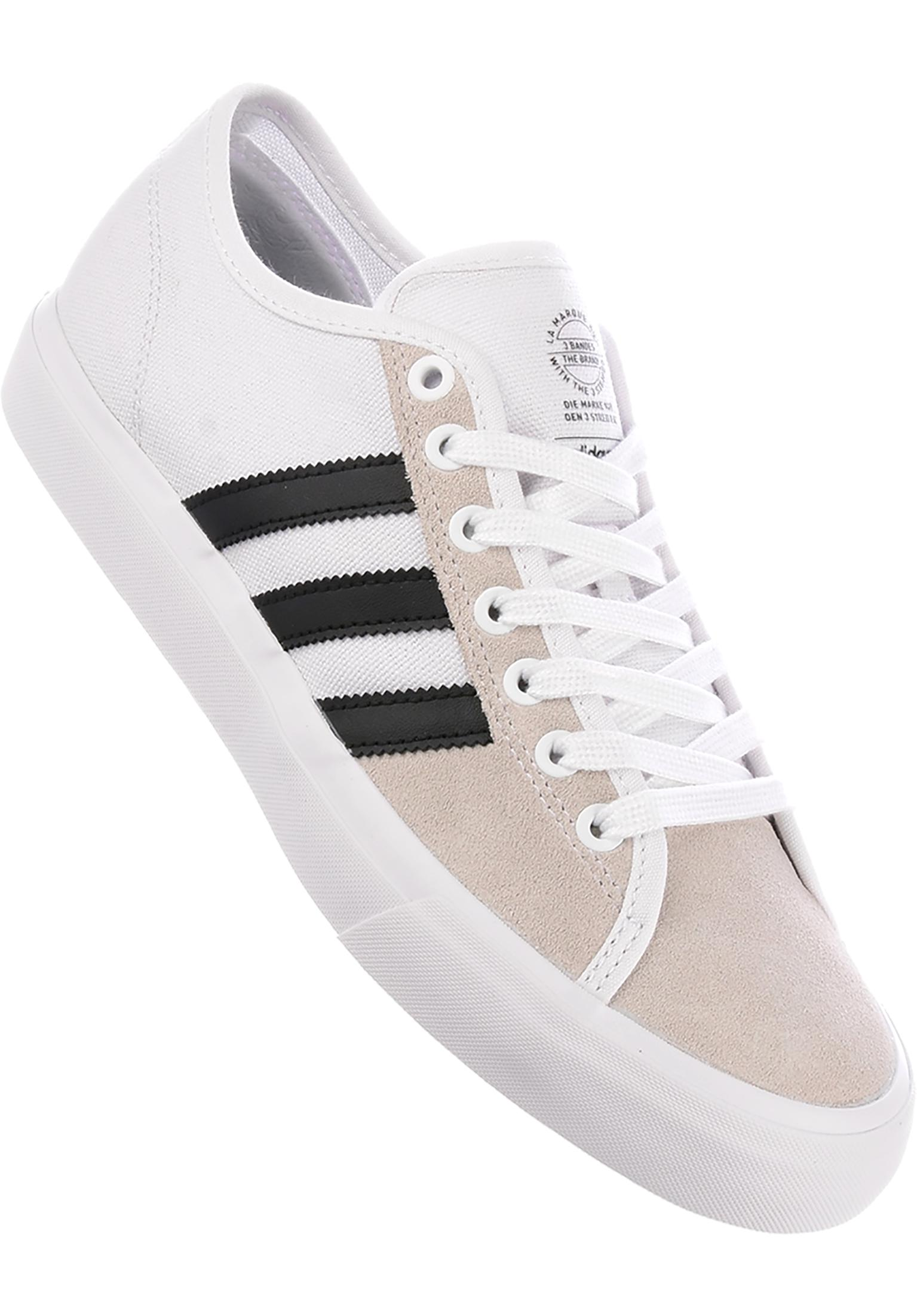 Matchcourt RX adidas-skateboarding All Shoes in white-black-white for Men  8c43ca5d436c