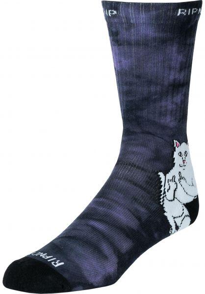 Rip N Dip Socken Lord Nermal lavender-tiedye vorderansicht 0631896