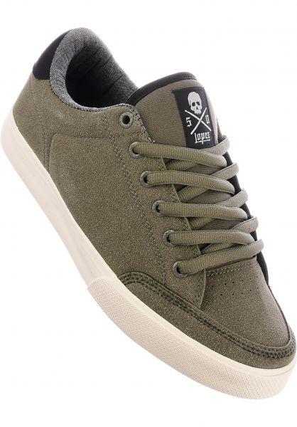 C1RCA Alle Schuhe Lopez 50 dustyolive-offwhite Vorderansicht