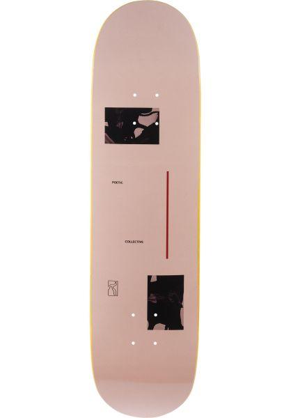 Poetic Collective Skateboard Decks Fluid II rose vorderansicht 0262123