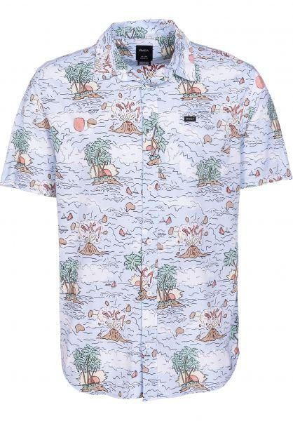 RVCA Hemden kurzarm Ceddia multi vorderansicht 0400880