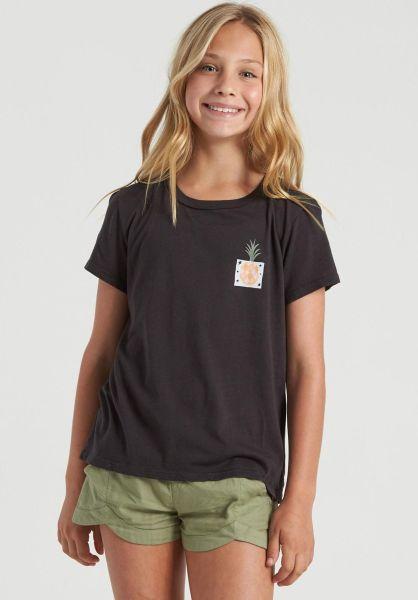 Billabong T-Shirts Modernist Pineapple black vorderansicht 0322875