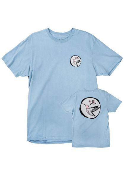 Transportation Unit T-Shirts Hummingbird babyblue vorderansicht 0320292