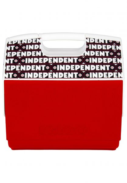 Igloo Verschiedenes Playmate Elite Independent 16 QT Cooler red-white vorderansicht 0972249