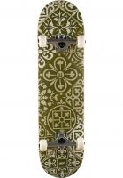 ueber-skateboard-komplett-tiles-olive-vorderansicht-0162701