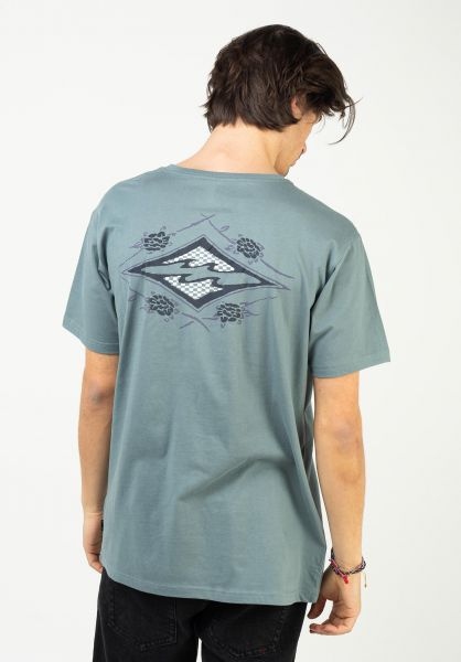 Billabong T-Shirts Heritage slate vorderansicht 0323685