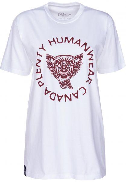 Plenty Humanwear T-Shirts Thea white vorderansicht 0398368