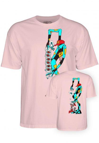 Powell-Peralta T-Shirts Ray Barbee Rag Doll lightpink vorderansicht 0320227
