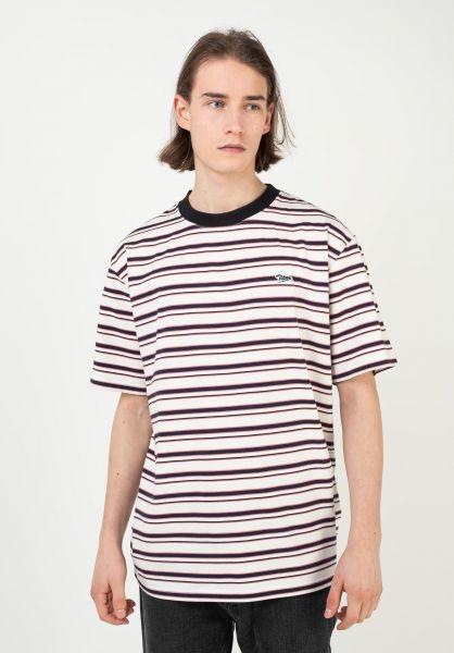TITUS T-Shirts Koa white-striped vorderansicht 0321923