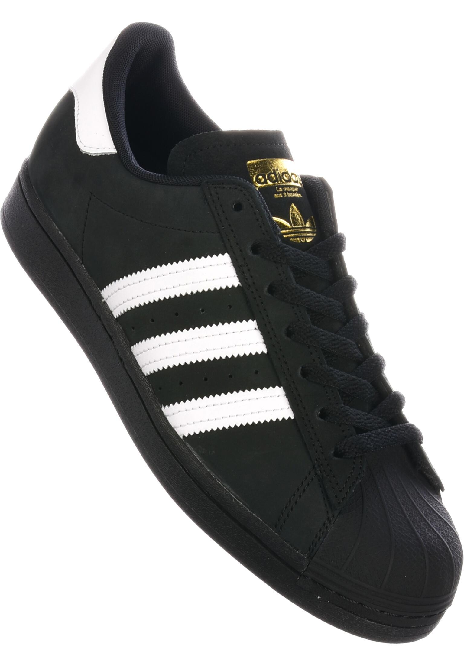 44 44 Adidas SUPERSTAR Gold, Men's Skateboarding Shoes