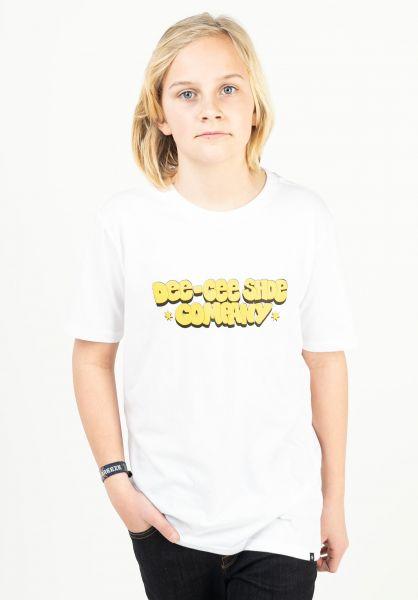DC Shoes T-Shirts Dee Cee Kids white vorderansicht 0323294