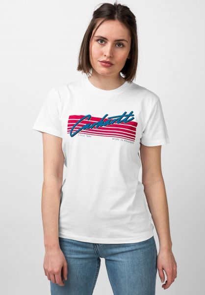 Carhartt WIP T-Shirts W´ Horizon white vorderansicht 0321031