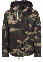 Dickies Windbreaker Milford camouflage Vorderansicht