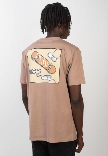 TITUS T-Shirts Rian ginger vorderansicht 0399265