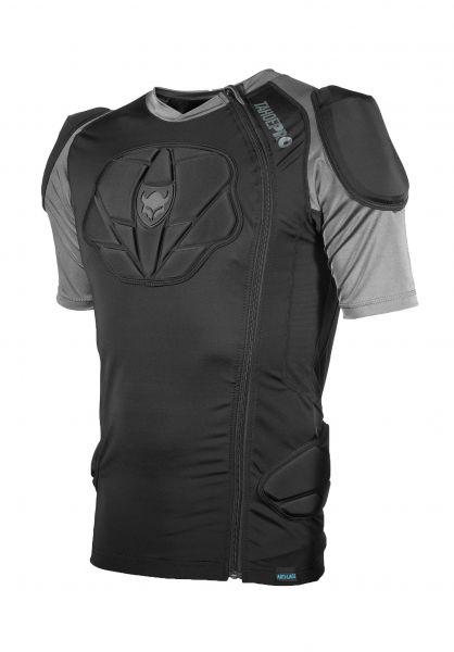 TSG Diverse Schoner Protective Shirt s/s Tahoe Pro A black vorderansicht 0259012