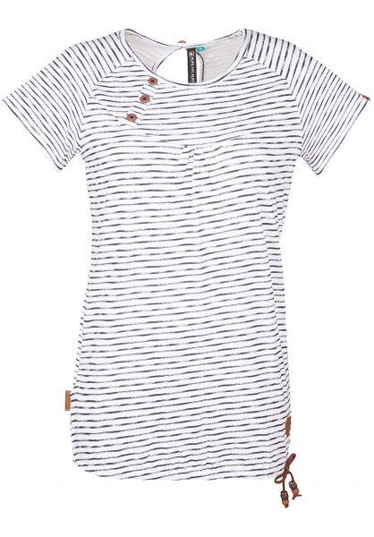 alife-&-kickin T-Shirts Summer cloudy-marinestripes Vorderansicht