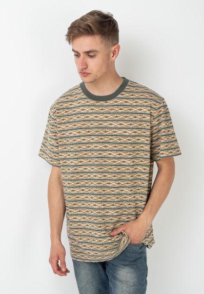 Rhythm T-Shirts Tribe Stripe agave vorderansicht 0322040