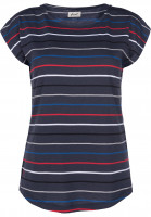 Forvert T-Shirts Acacia multinavy Vorderansicht