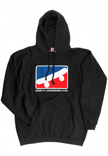 Shortys Hoodies Skate Icon black Vorderansicht