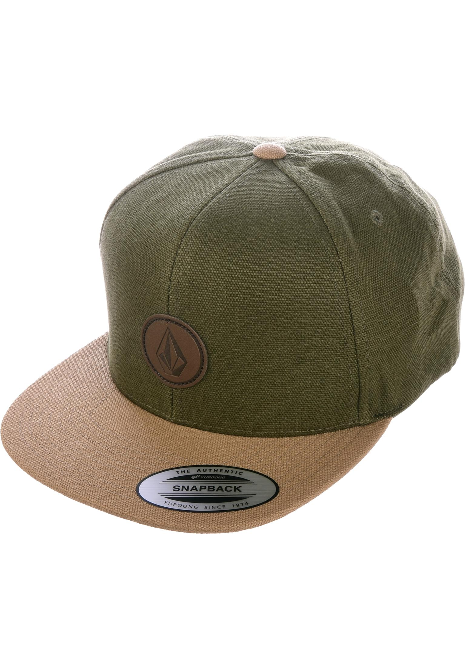 sale retailer c8657 0cb5f ... discount code for quarter fabric volcom caps in army for men titus  3b8eb 1a423