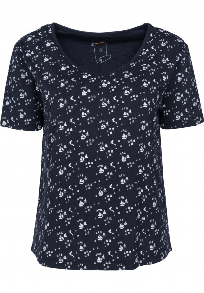 Rules T-Shirts Mermaid navy Vorderansicht