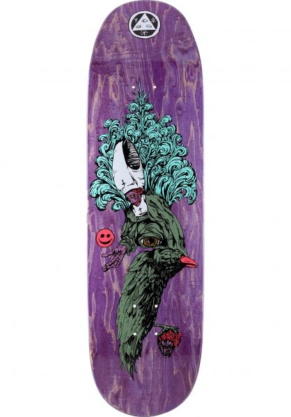 Welcome Skateboard Decks Tonight I´m Yours Baculus 2 purple-stain vorderansicht 0265480