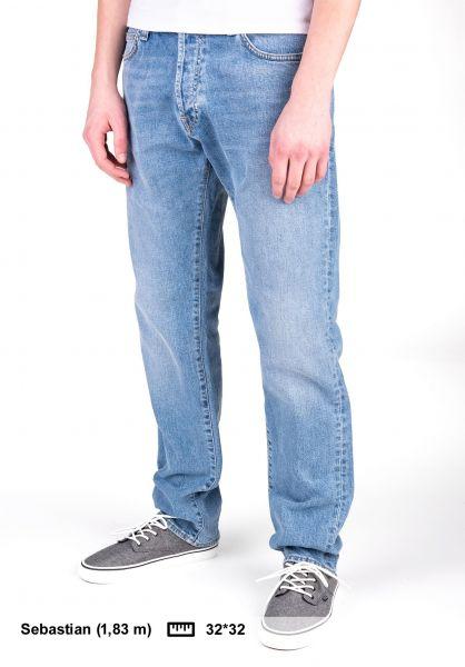 Carhartt WIP Jeans Klondike Pant (Mills) bluecoastbleached vorderansicht 0269056
