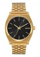 nixon-uhren-the-time-teller-allgold-black-sunray-vorderansicht-0810087
