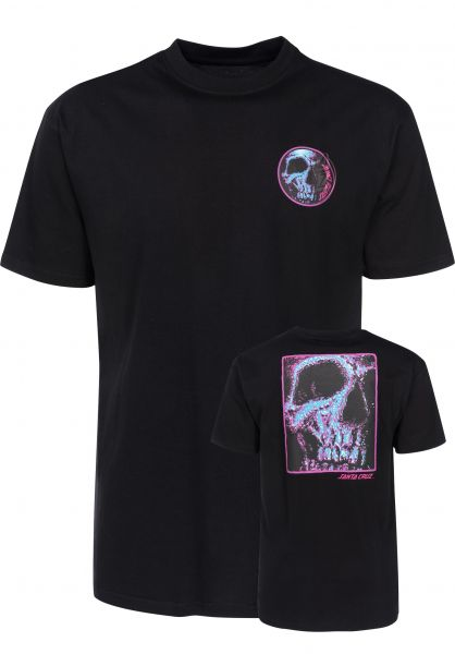 Santa-Cruz T-Shirts Street Creep black Vorderansicht
