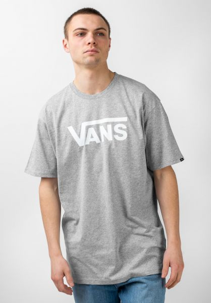 Vans T-Shirts Classic athleticheather-white vorderansicht 0361788
