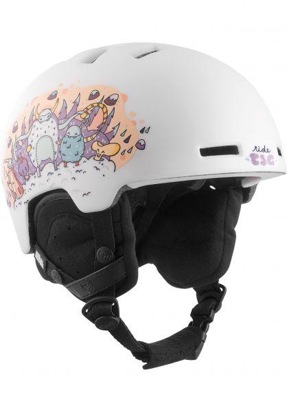TSG Snowboardhelme Arctic Nipper Mini Graphic Design yeti-party vorderansicht 0223011