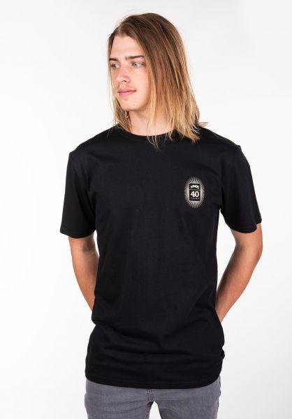 TITUS T-Shirts 40-Years-Backprint black vorderansicht 0398293
