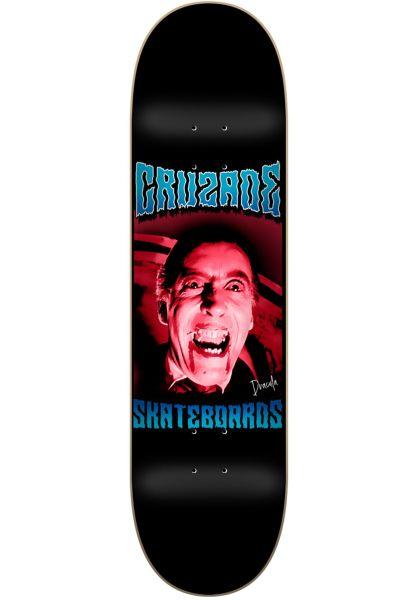 Cruzade Skateboard Decks Serie B black-pink vorderansicht 0263824