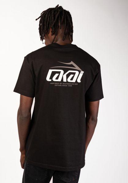 Lakai T-Shirts Inspired black vorderansicht 0398928