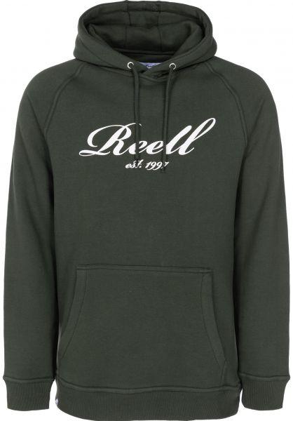 Reell Hoodies Big Logo Hoodie deepgreen vorderansicht 0444783