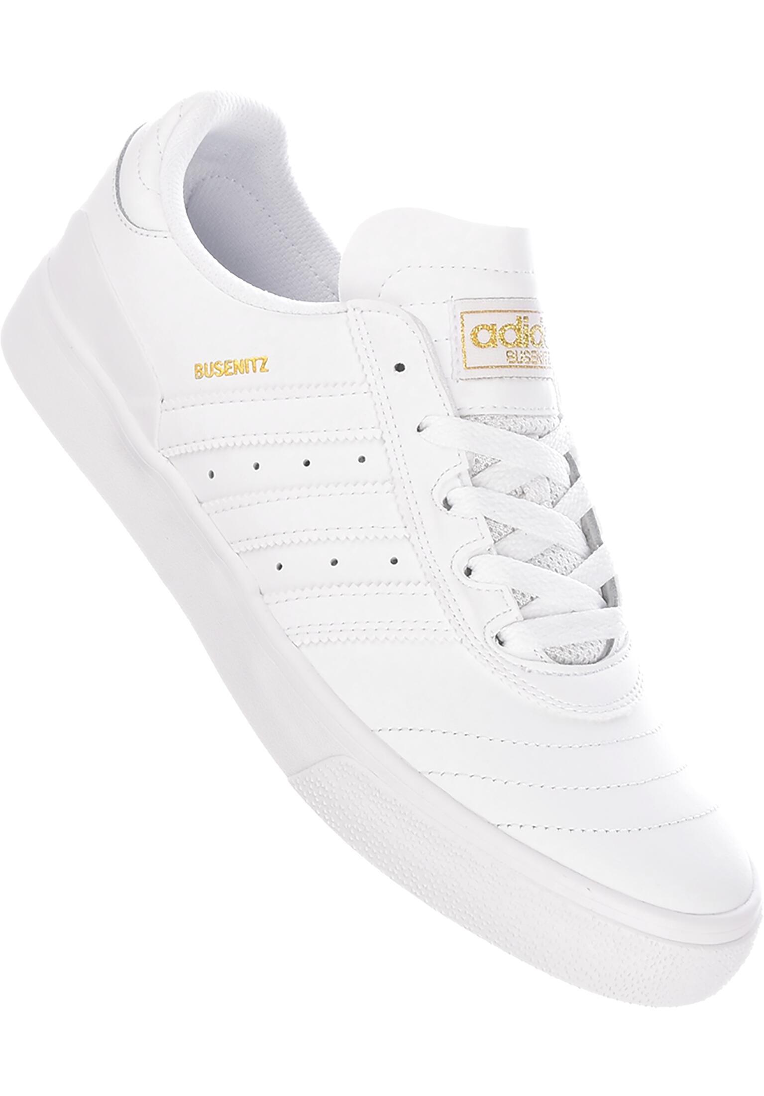finest selection ee17f 5c5be Busenitz Vulc ADV adidas-skateboarding Tutte le scarpe in white-white-gold  da Uomo   Titus