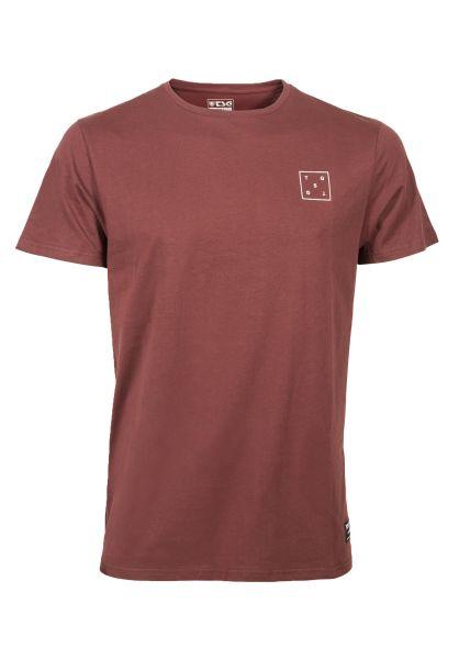 TSG T-Shirts Box oxblood vorderansicht 0398978