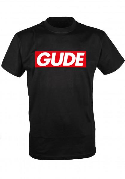 GUDE T-Shirts Schranke black Vorderansicht