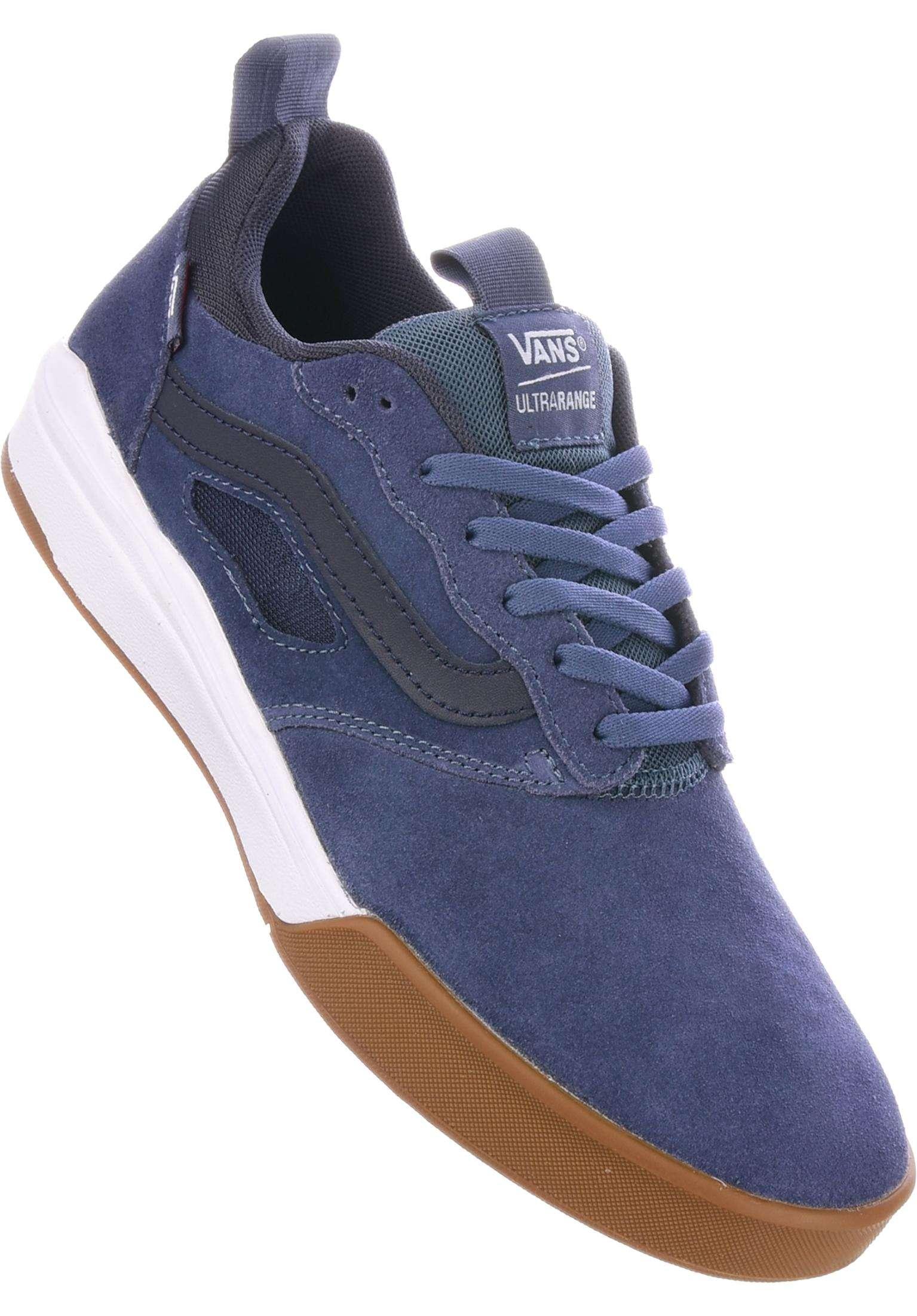 2535907885 UltraRange Pro Vans All Shoes in vintageindigo-gum-white for Men