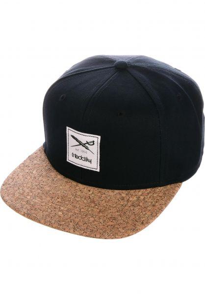 iriedaily Caps Exclusive Cork black vorderansicht 0565590