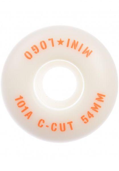 Mini-Logo Rollen C-Cut #3 101A white vorderansicht 0134704