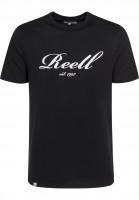 Reell-T-Shirts-Big-Script-black-Vorderansicht