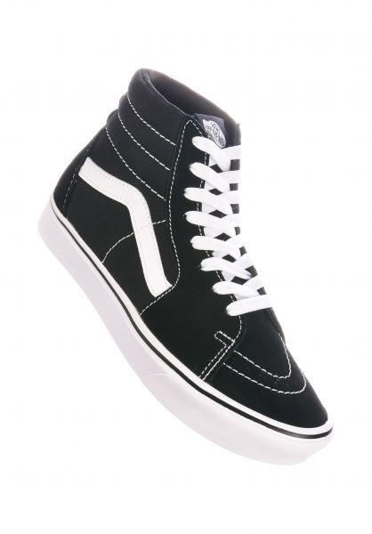 Vans Alle Schuhe ComfyCush Sk8 Hi black-truewhite vorderansicht 0612508