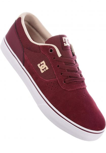 662e30b7daf Switch S Dc Shoes All In Maroon For Men Titus