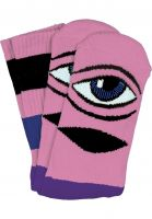 Toy-Machine-Socken-Sect-Eye-Big-Stripe-pink-Vorderansicht