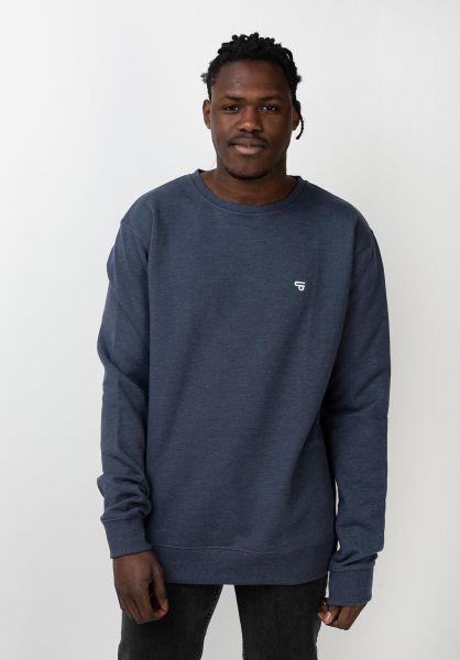 TITUS Sweatshirts und Pullover Uni navymottled vorderansicht 0420880