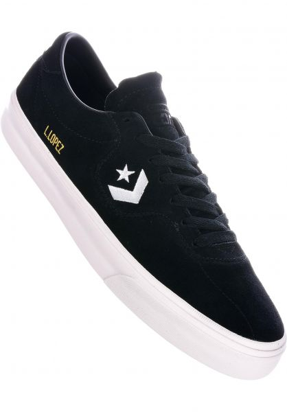 Converse CONS Alle Schuhe Louie Lopez Pro OX black-black-white vorderansicht 0604558
